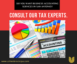 business accounting San Antonio