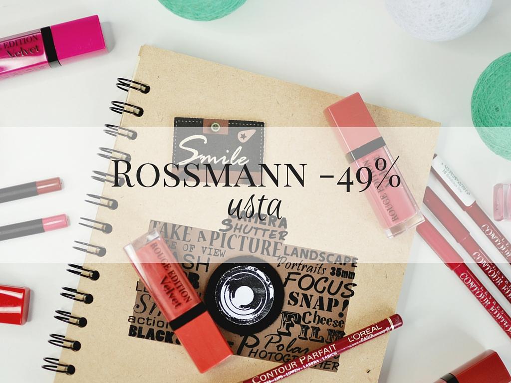 promocja -49% rossmann