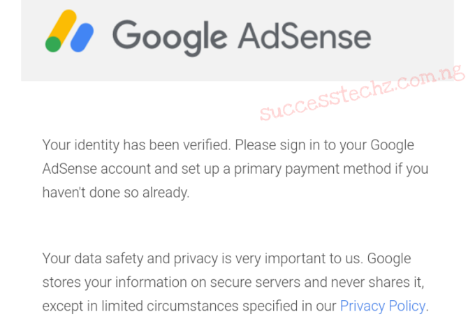 How To Solve Google Adsense Identity Verification That Failed After 3 Times