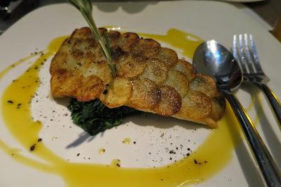 Spasso Italian Bar & Restaurant, sea bass fillet