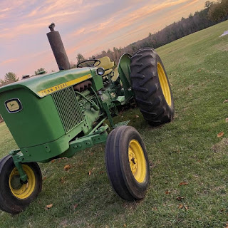 Farmer Nick will have his tractor on the Town Common Friday