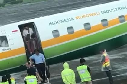 Viral, Video Pesawat Indonesia Morowali Kerap Angkut WNA China