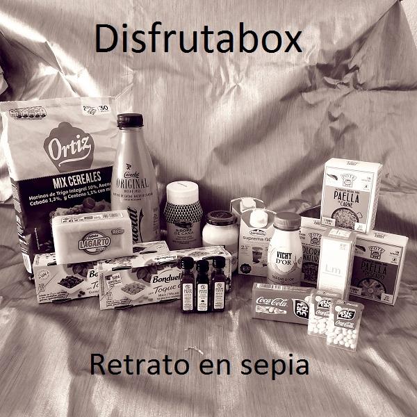 """Disfrutabox """"Retrato en sepia"""""""