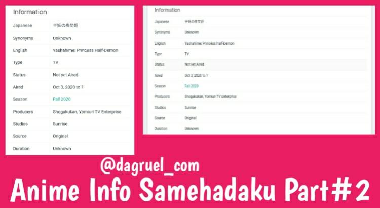 Anime Info Samehadaku Part#2