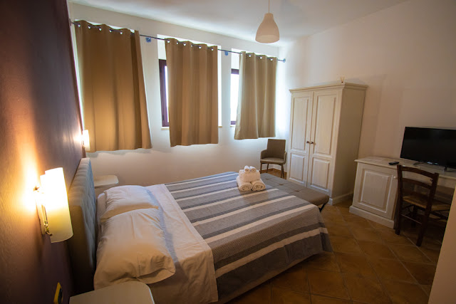 Hotel villa Santadi-Camera