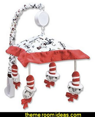 Dr. Seuss Mobile, Cat In The Hat dr seuss nursery decor