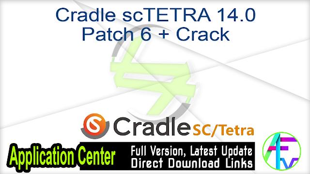 Cradle scTETRA 14.0 Patch 6 + Crack