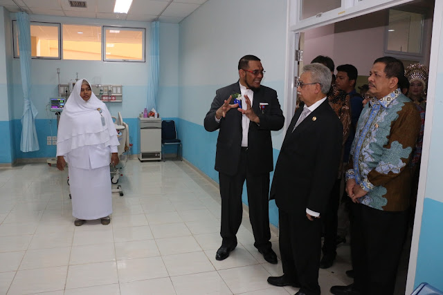 Rp95 Miliar Dana Otsus Aceh Bangun Rawa Inap RSUZA