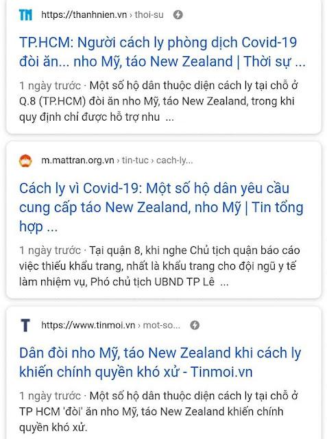 """Từ đề nghị mua giúp trở thành yêu cầu: """"táo New Zealand, nho Mỹ"""". Bi kịch báo chí"""