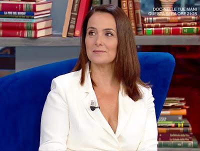 Roberta Capua oggi è un altro giorno 24 giugno