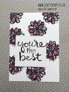 How to make a Watercolor Words card using Stampin' Up! products