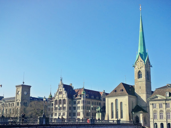 🌍72 hours in Zürich, Switzerland