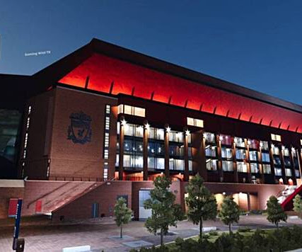 PES 2020 Anfield Stadium with Exterior