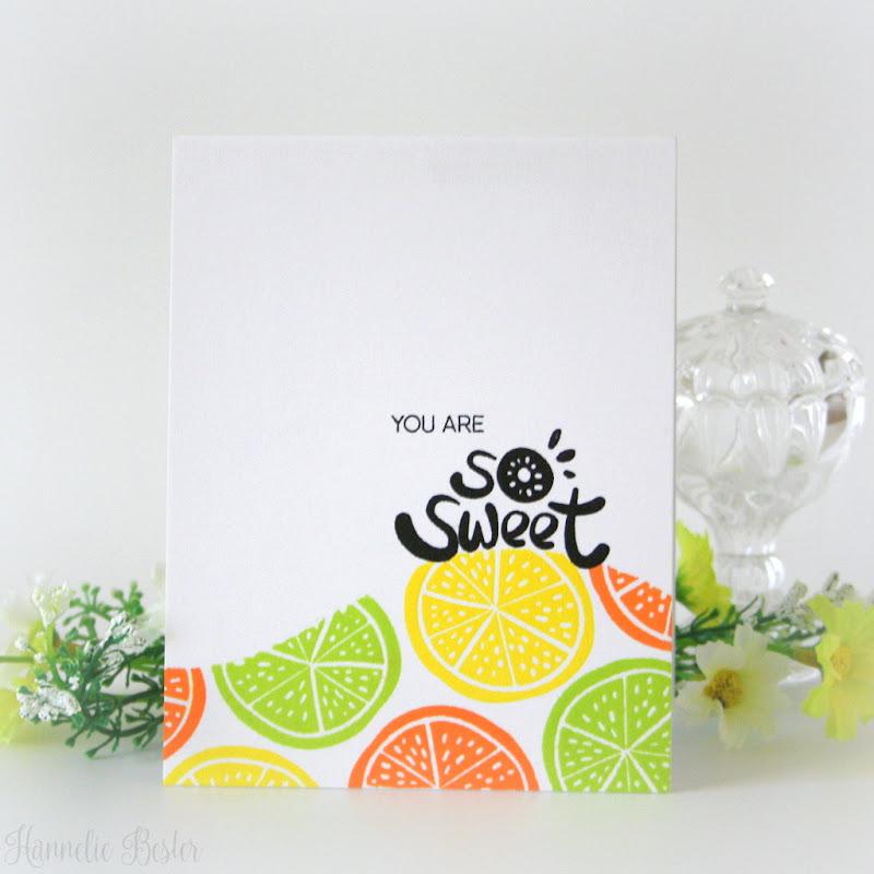 Altenew simple fruits