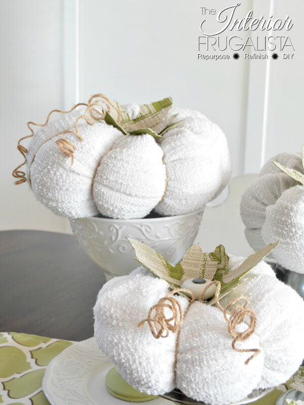 White Sweater Pumpkins
