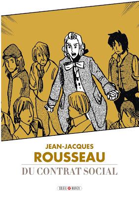 couverture de JJ Rousseau Du Contrat Social par studio variety artwork chez soleil manga