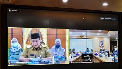 Bahas Pemulihan Lingkungan, Wakil Menteri LHK Rapat Koordinasi dengan Gubernur Kalsel