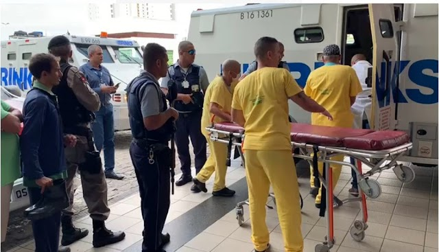 Segurança de carro-forte é baleado em tiroteio próximo a supermercado, em João Pessoa