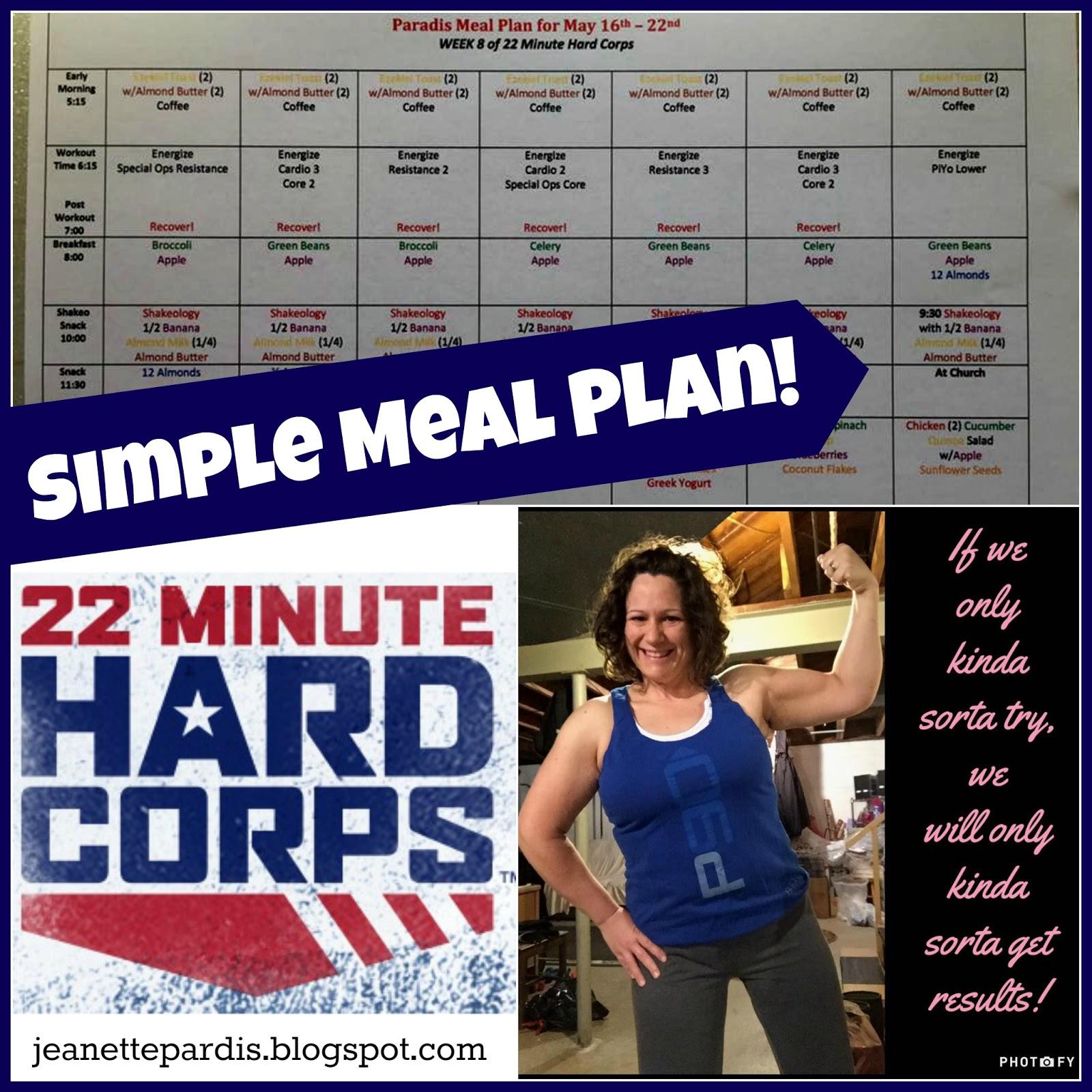 22 Minute Hard Corps, Meal Planning, Snacks, Tony Horton, Healthy Nutrition