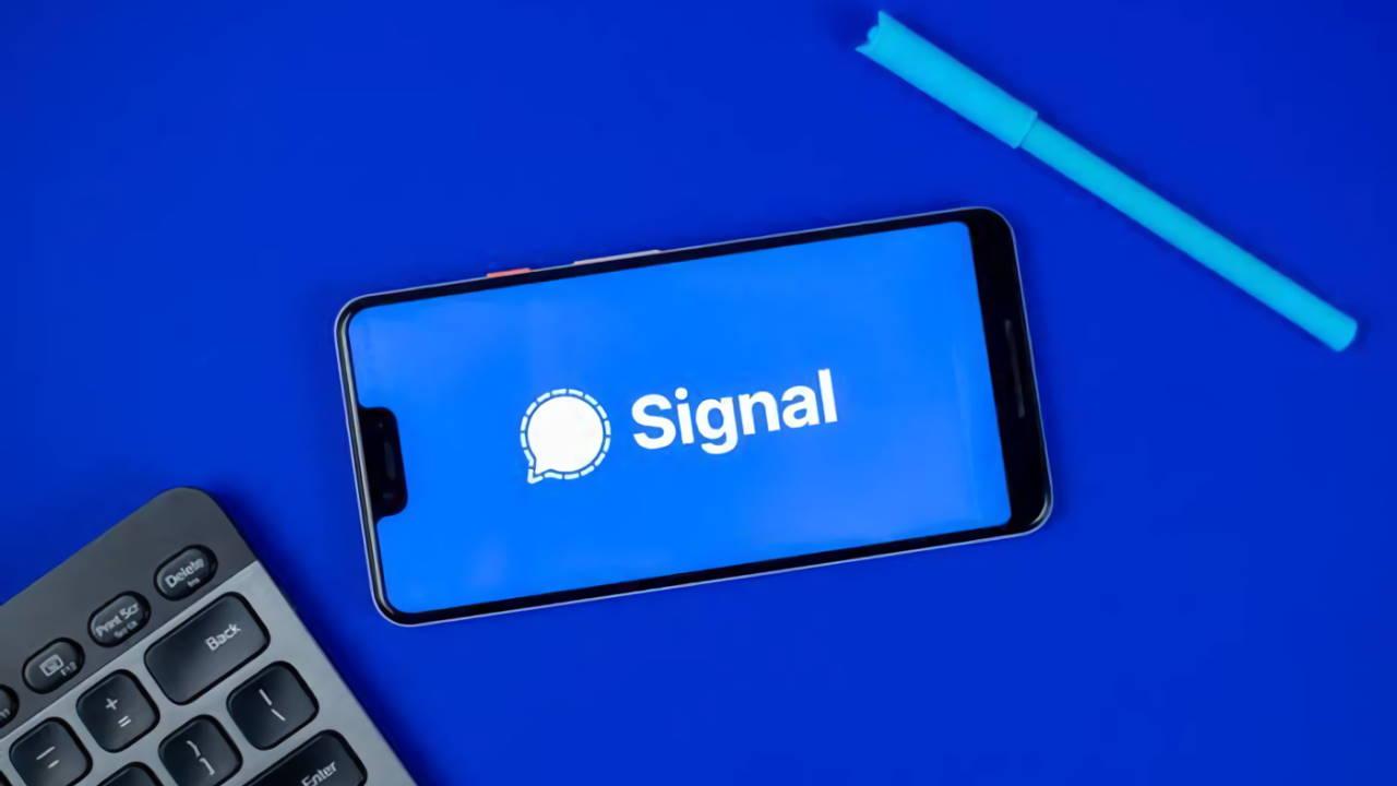 Review Aplikasi Signal