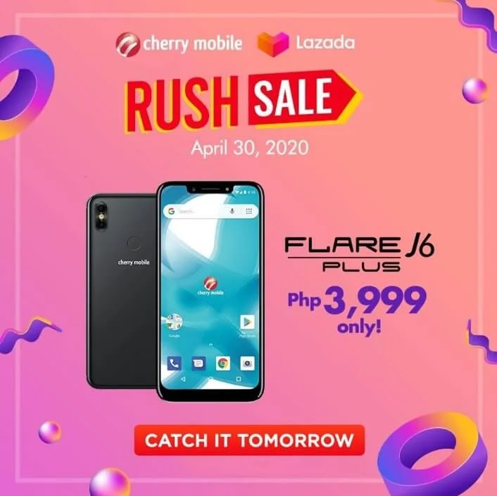 Cherry Mobile Flare J6 Plus To Be On Sale Tomorrow For Only Php3,999
