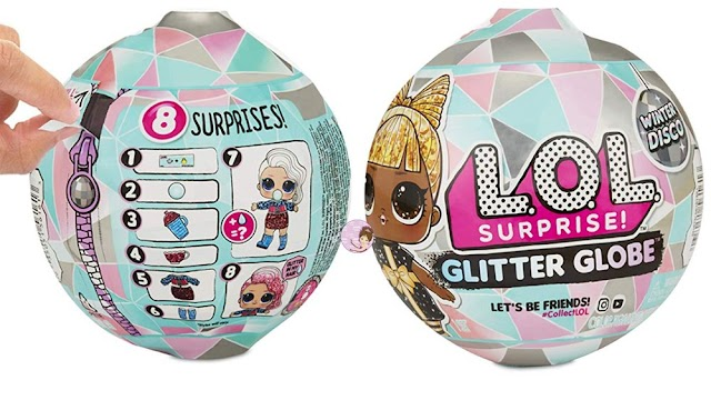 Cute L.O.L. Surprise Glitter Globe Series with New Girls and Boy Dolls