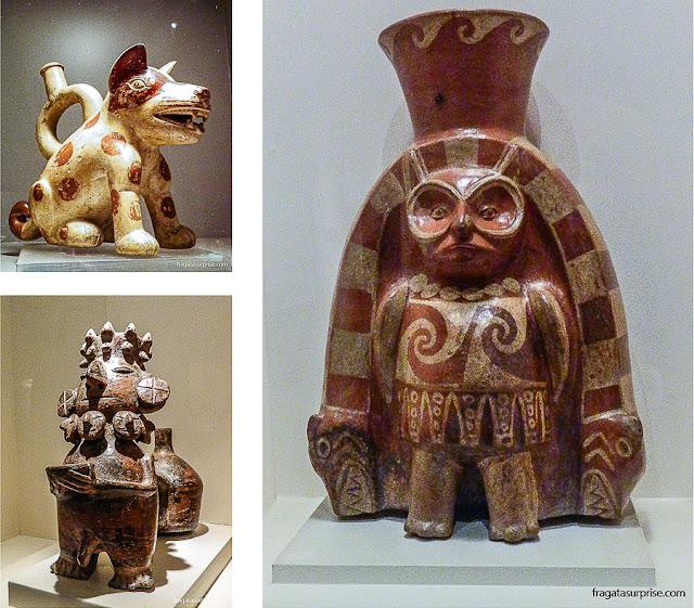 Peças pré-colombianas do acervo do Museu Larco de Lima, Peru