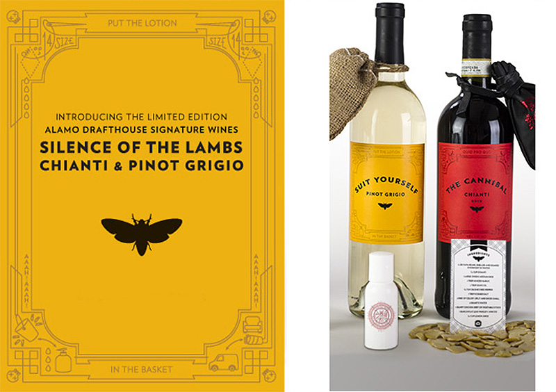 Silence of the Lambs Chiant and Pinot Grigio
