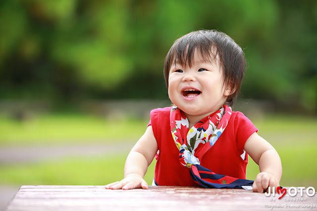 1歳のお誕生日ロケーション撮影
