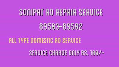 RO Service in Sonipat