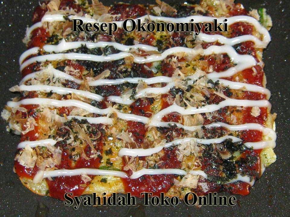 Okonomiyaki Resep Enak