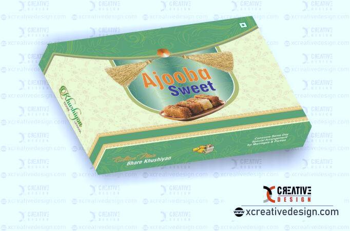 creative sweet box design