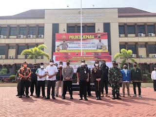 Ormas di Jepara tandatangani deklarasi cinta damai