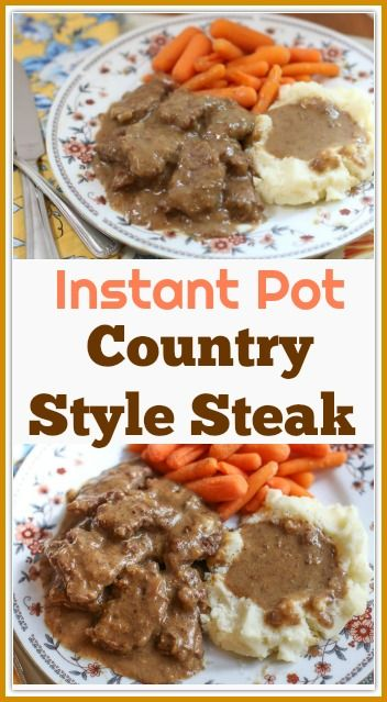 COUNTRY STYLE INSTANT POT CUBE STEAK RECIPE #recipes #dinner ideas #dinnerideasfortonight #food #foodporn #healthy #yummy #instafood #foodie #delicious #dinner #breakfast #dessert #lunch #vegan #cake #eatclean #homemade #diet #healthyfood #cleaneating #foodstagram