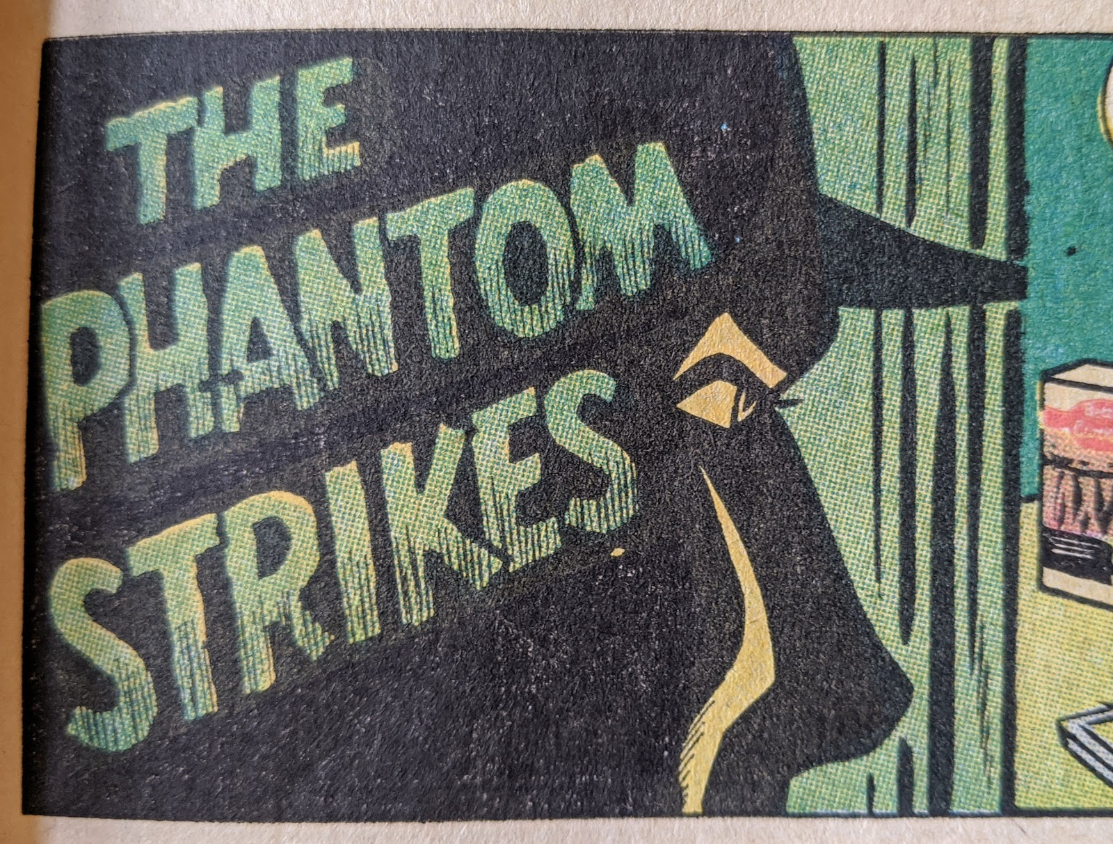 image of vintage comic book panel art