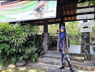 Si sulung di depan lobby MSI. Dokpri