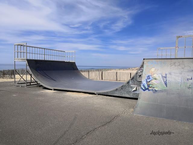 skatepark lacanau rampe