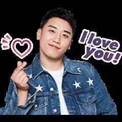 BIGBANG勝利(V.I)有聲貼圖