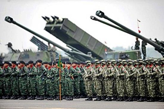 Gambar parade militer