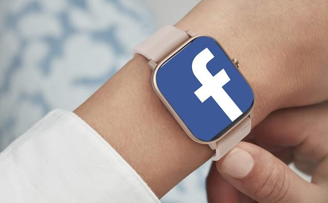 ساعة فيس بوك الذكية