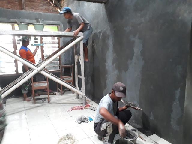Kusnah : Berkat TNI Keluarga Saya Mempunyai Rumah Layak Huni