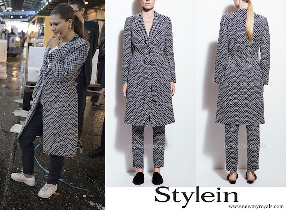 Princess Victoria wore Stylein Bianca Coat