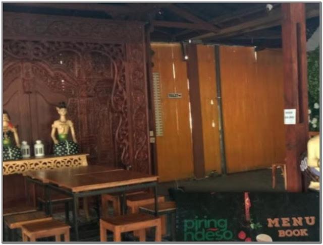 Rumah Makan Piring Ndeso;10 Top Kuliner Bojonegoro;
