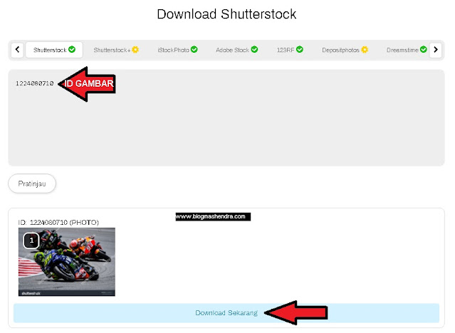 Download Gambar di Shutterstock