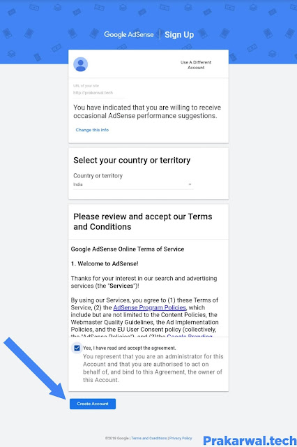 How To Create Adsense Account