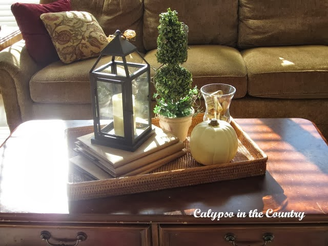 Fall Vignette Pottery Barn Inspired Calypso In The Country