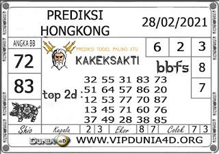 Prediksi Togel HONGKONG DUNIA4D 28 FEBRUARI 2021
