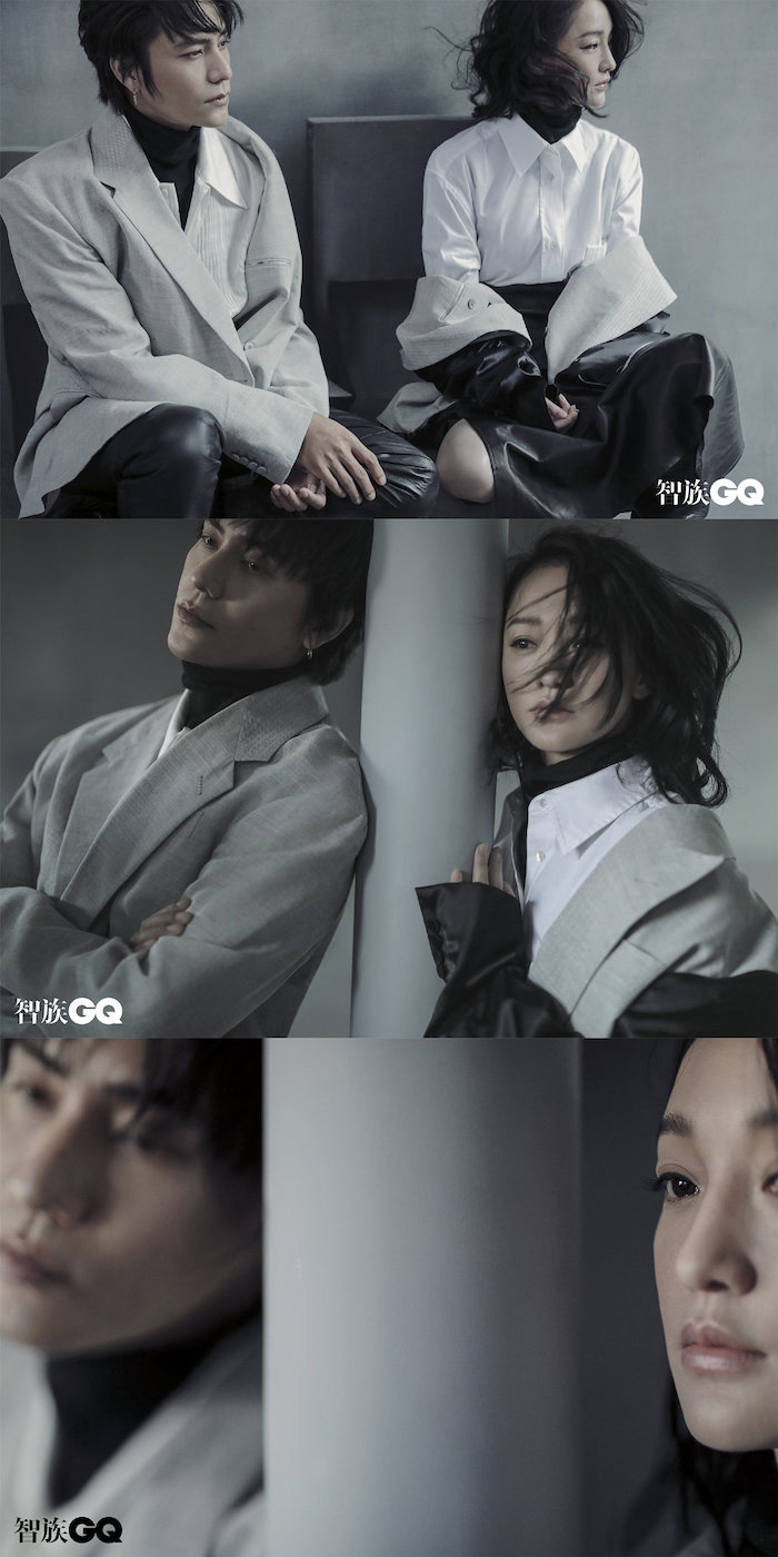 Chen Kun, Zhou Xun, 陈坤, 周迅, The  Yin Yang Master, GQ China
