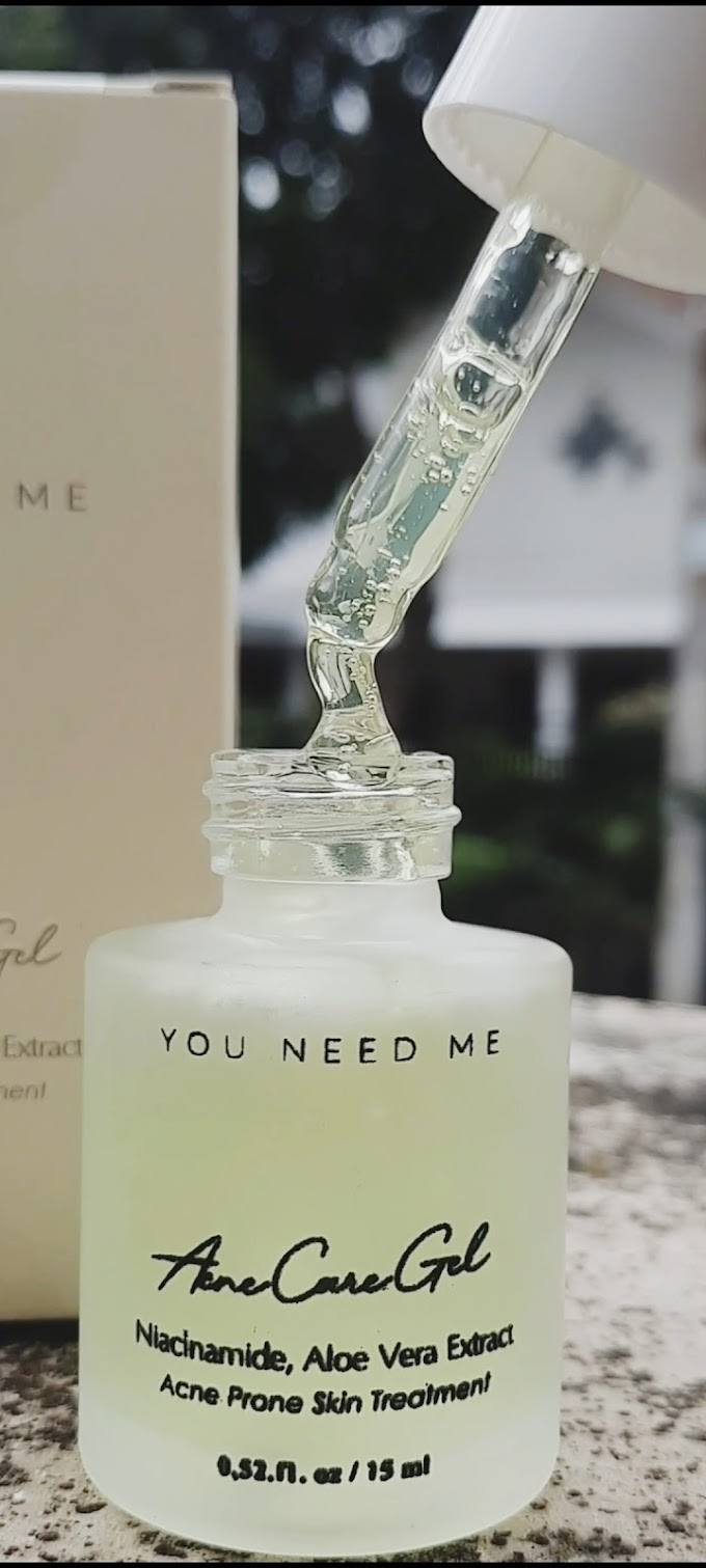 REVIEW: You Need Me Acne Care Gel