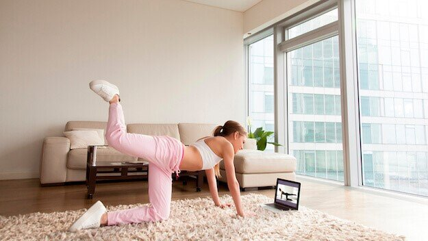 Simple Home Exercises to Stay Healthy & Fit